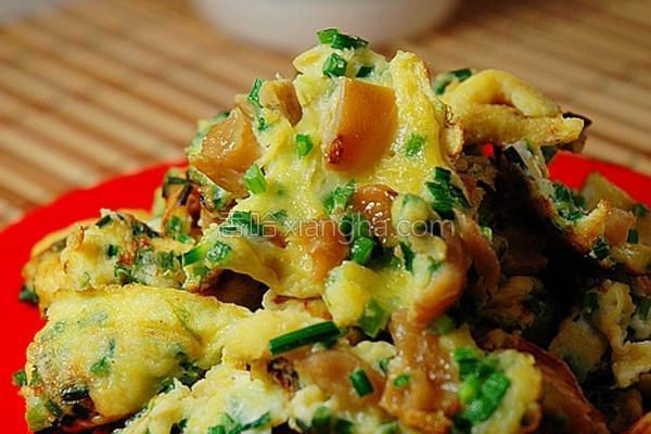 香煎菜脯蛋的做法