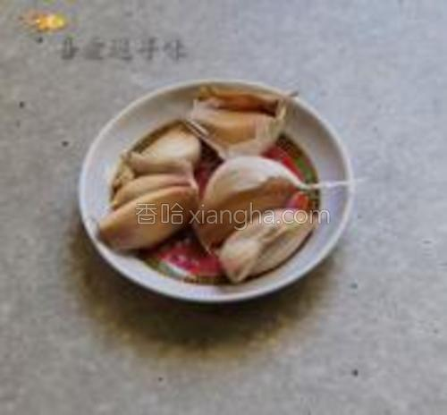 蒜瓣5…6瓣。