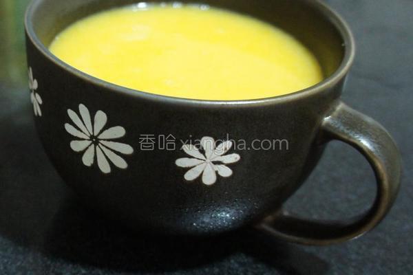 香浓滑口南瓜汤的做法