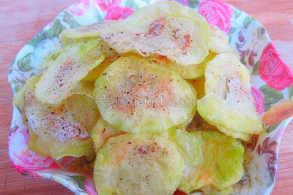 椒盐薯片的做法
