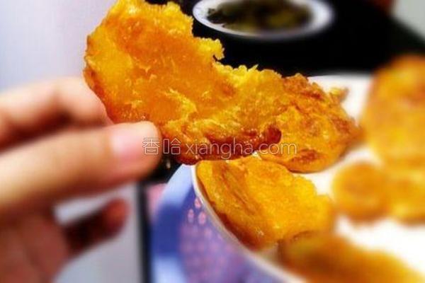 松软南瓜饼的做法