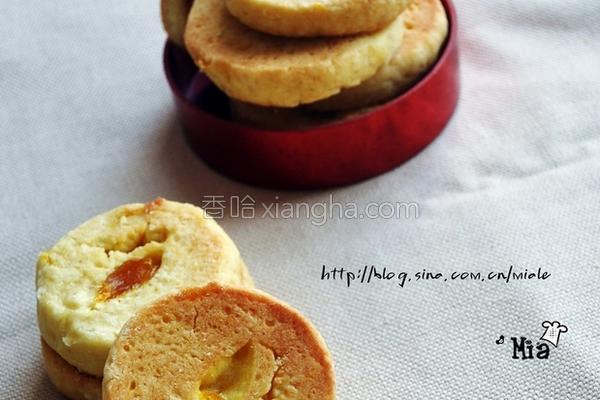 芒果酱酥饼的做法