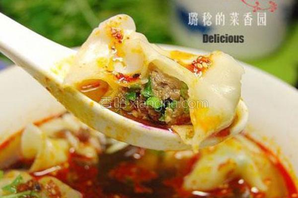 陕西酸汤水饺的做法