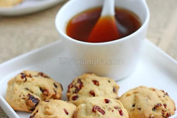 蔓越莓杏仁酥饼的做法