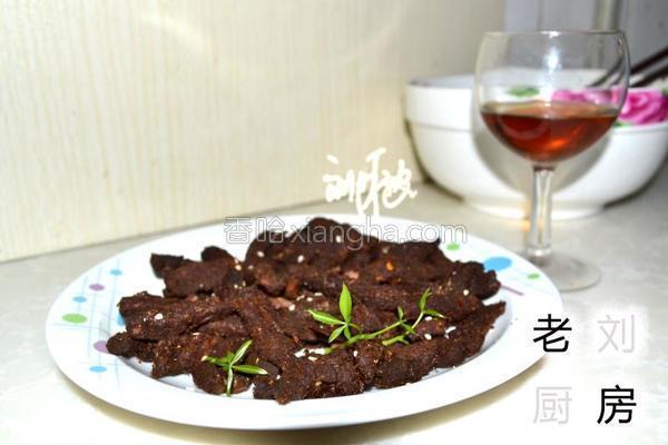 红酒牛肉干的做法