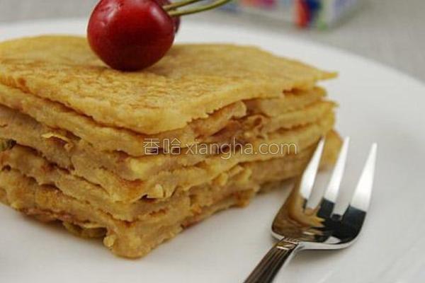 红萝卜苹果渣饼的做法