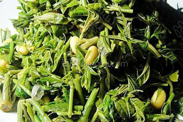 香椿豆的做法