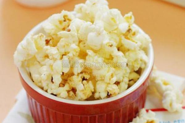 椰香爆米花的做法