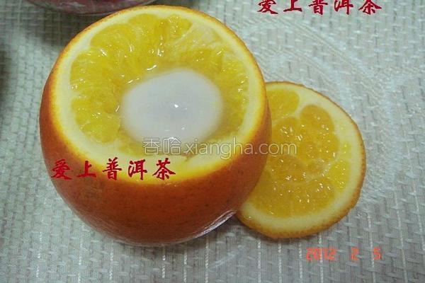 甜橙元宵煲的做法