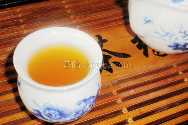 楂荷叶茶的做法