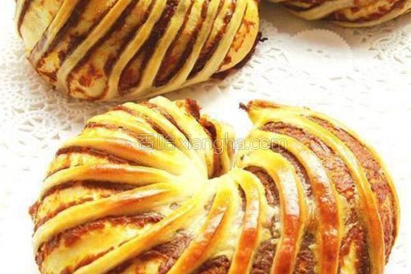 花式南瓜泥面包的做法