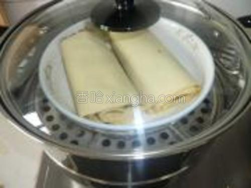 上蒸锅蒸15分钟。