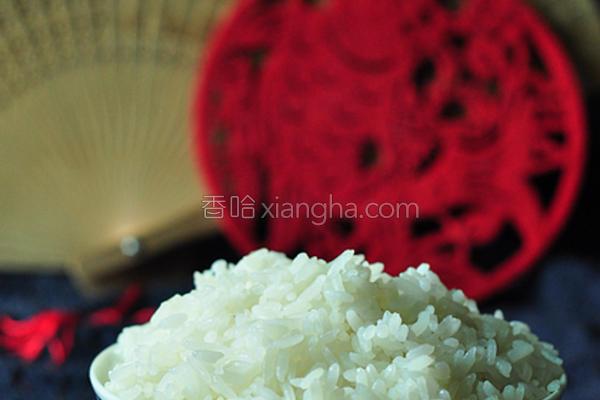五常稻花香米饭的做法