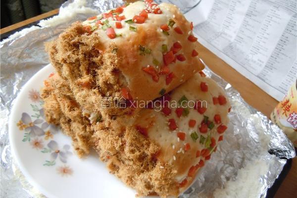 汤种肉松面包卷的做法