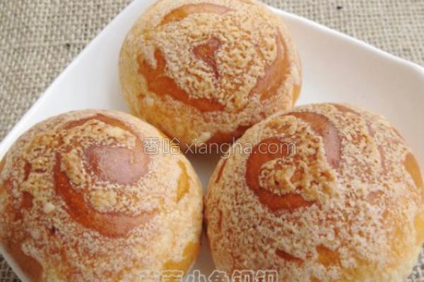 红豆沙酥香蛤蜊的面包_菜谱_香哈网做法蒸5分钟图片