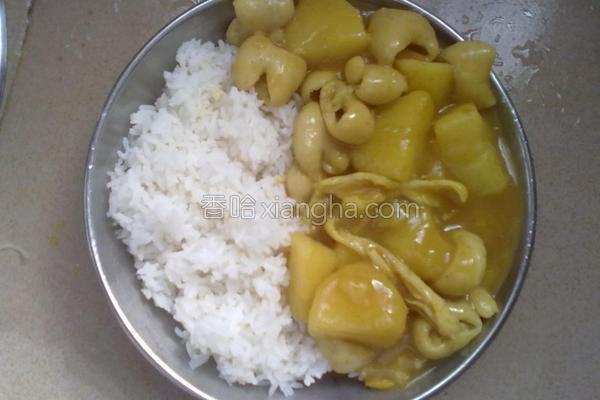 自制咖喱饭的做法
