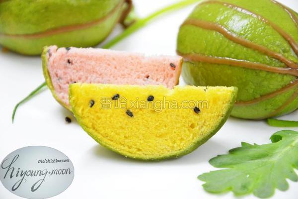西瓜包的做法