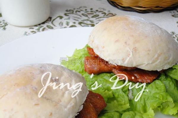 全麦葵仁小面包的做法