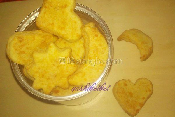 酥脆芝士饼干的做法