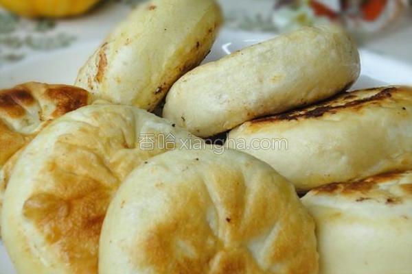 香菇油菜馅饼的做法