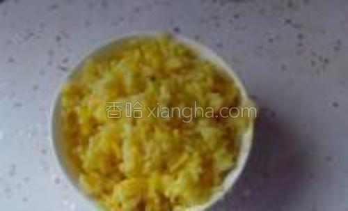 当米饭能够在锅中跳舞后盛出