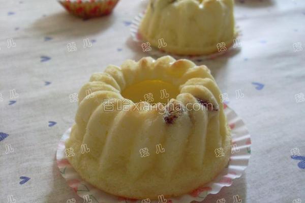 蔓越莓奶酪小蛋糕的做法