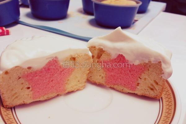 星型小蛋糕的做法