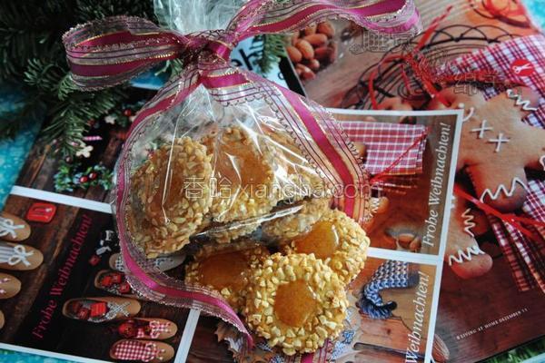 杏仁糖杏子小饼的做法