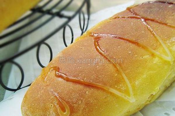 南瓜肉松餐包的做法