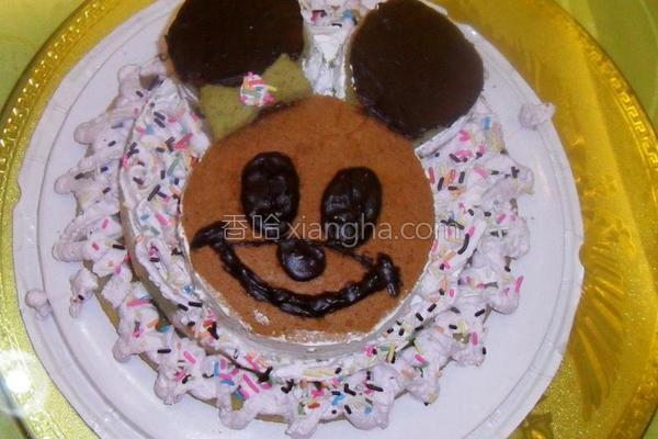 戚风蛋糕之生日蛋糕的做法