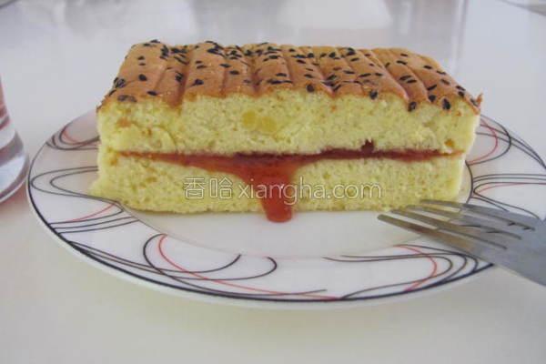 草莓夹心蛋糕的做法