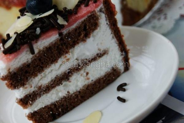 可可慕斯蛋糕的做法