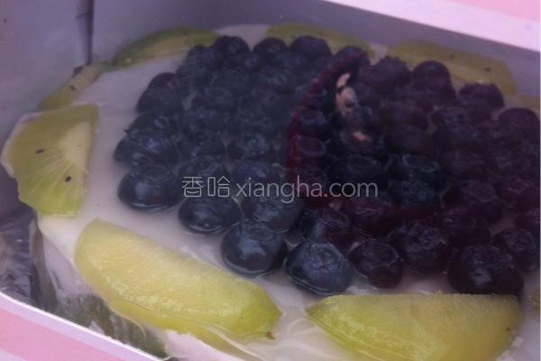 蓝莓酸奶慕斯的做法