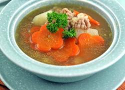 山药胡萝卜牛肉汤