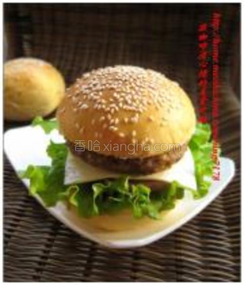 黑椒猪肉堡