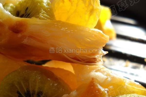 水果千层酥的做法