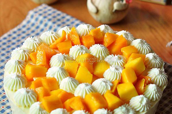 芒果香橙慕斯蛋糕的做法