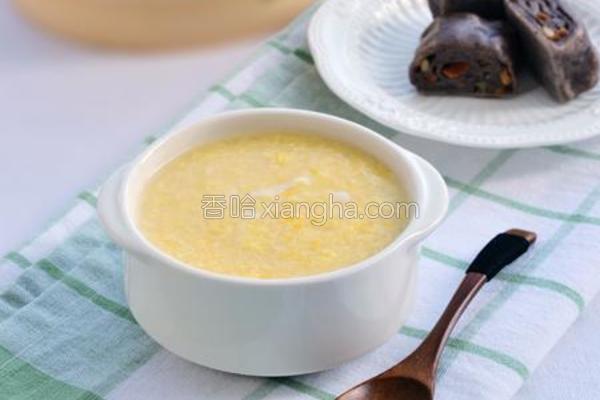 小米蛋花粥