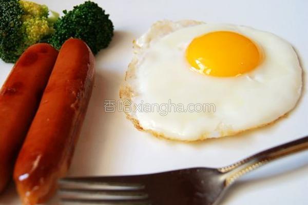 巧煎溏心蛋的做法