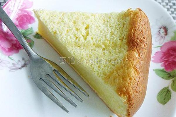 奶香蛋糕的做法