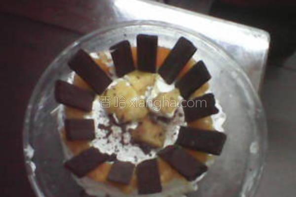 香橙芒果蛋糕的做法