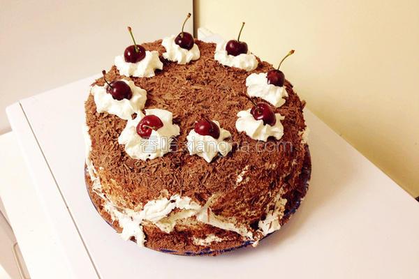 黑森林蛋糕的做法