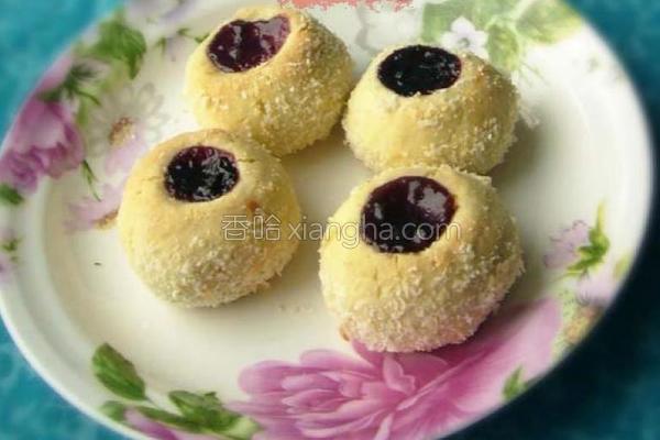 蓝莓小球饼的做法