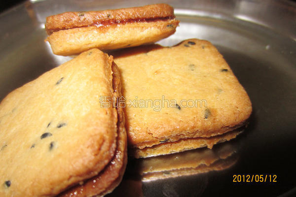 花生果酱夹心饼干的做法