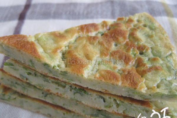 芹菜饼的做法
