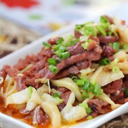 红笋炒牛肉的做法[图]