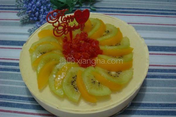 酸奶蜜桃芝士蛋糕的做法