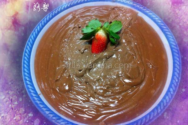 巧克力味蛋黄酱的做法