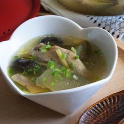 香菇冬瓜鸡汤的做法[图]