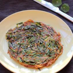 蚝油韭菜玉子烧的做法[图]
